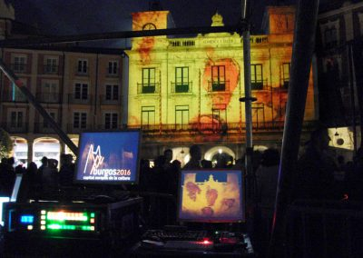Burgos Capital Europea 2016 – Video Mapping
