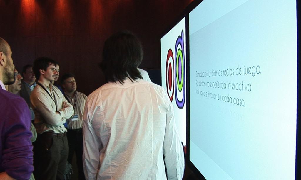 Ponencia en el primer Simposium 'Digital Signage' organizado por Crambo Visuales