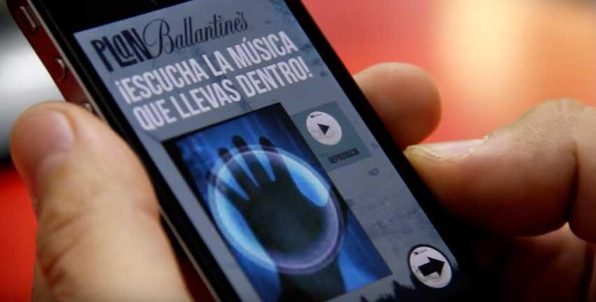 Saca la música que llevas dentro – Aplicación Ballantine's