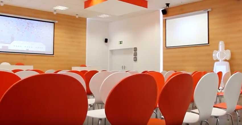 Aula interactiva para DAFSA – Instalaciones Interactivas