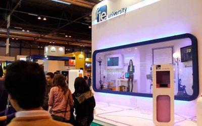 Azafata Virtual en las ferias de educación de 2012
