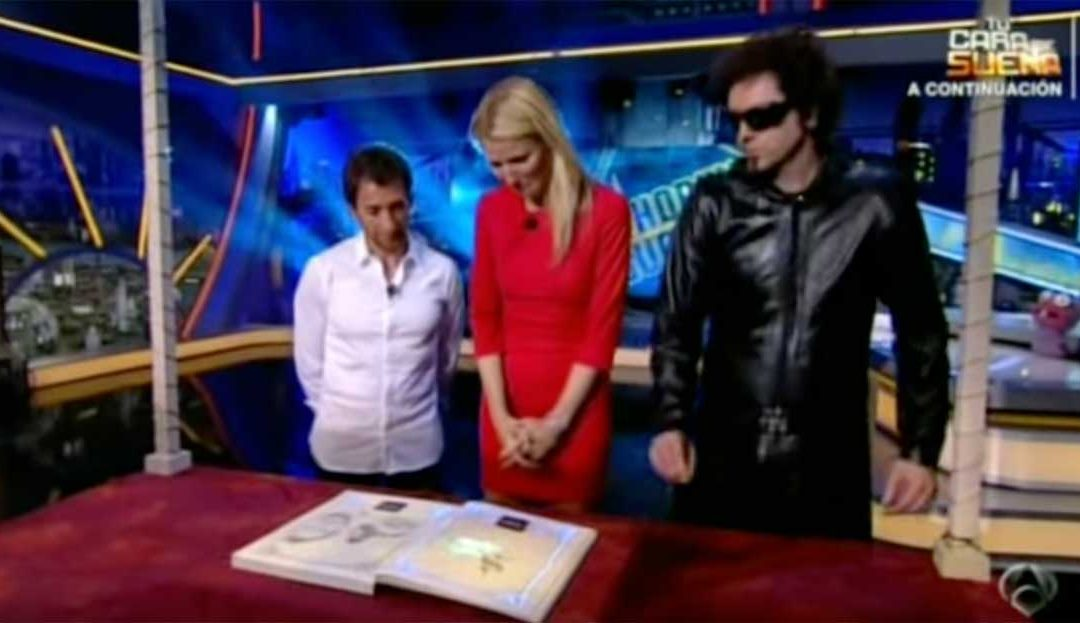 Magic Book en el Hormiguero con Gwyneth Paltrow
