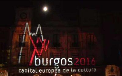 Proyección sobre arquitectura: Burgos 2016