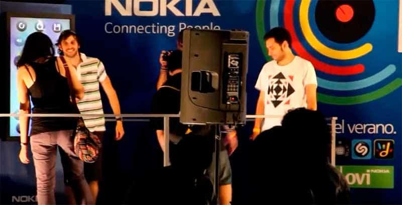 Loop Nokia, Instalación Interactiva