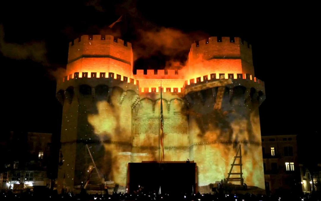 La Crida – Video Mapping 3D