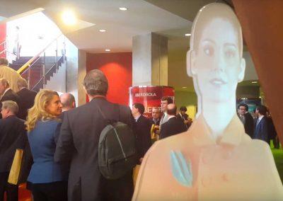 Azafata Virtual Día del accionista Iberdrola