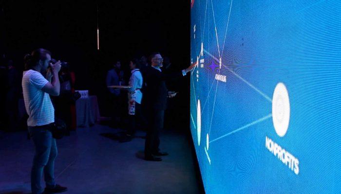 Touch Wall está diseñado por Cubensis Project