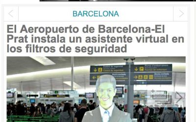 Cubensis Project develops and installs the Virtual Hostess of the Barcelona Airport