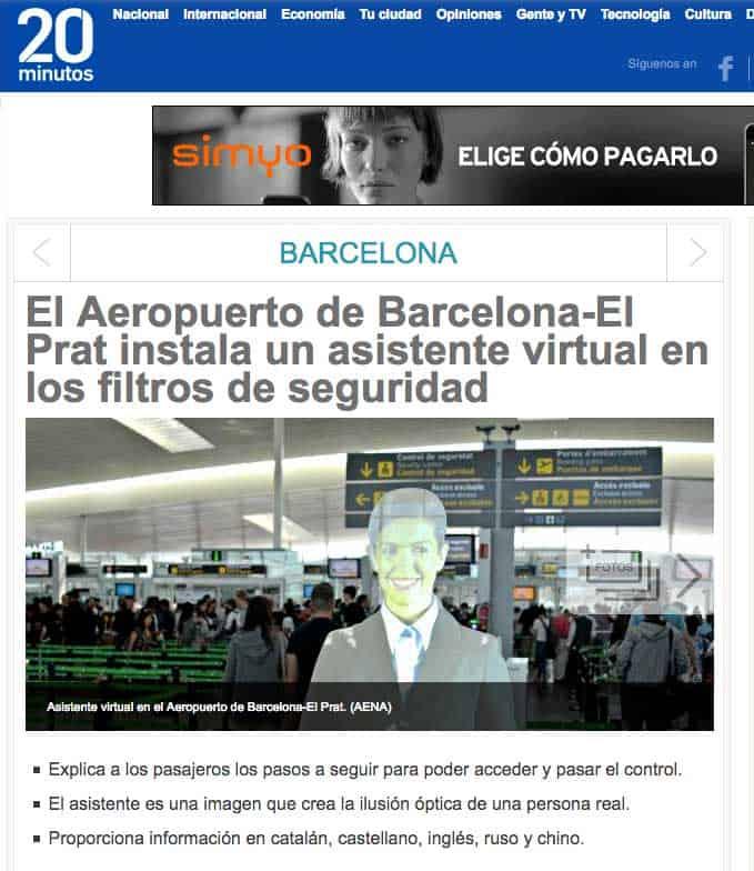 Asistente Barcelona el Prat Noticias Cubensis Project