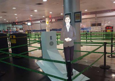 Virtual Hostess Barcelona El-Prat airport