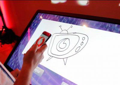 Tactil Sginature Book  Kick Off Vodafone
