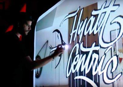 Digital Graffiti Puerta de América Hotel